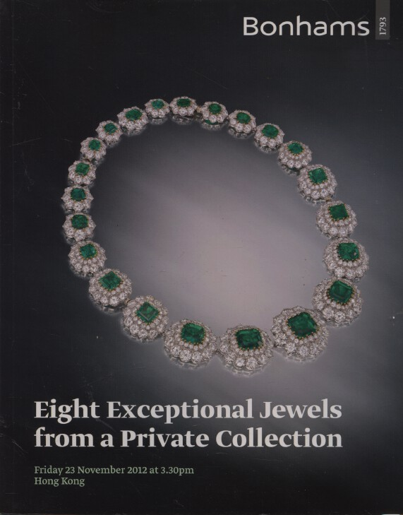 Bonhams 2012 Eight Exceptional Jewels from a Private Collection