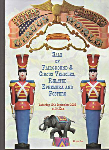 2008 Arnett Collection Fairground & Circus Ephemera