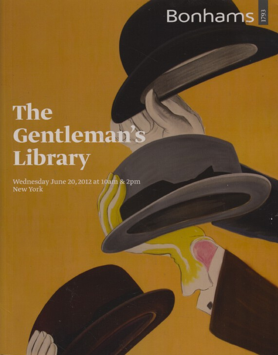 Bonhams June 2012 The Gentleman's Library