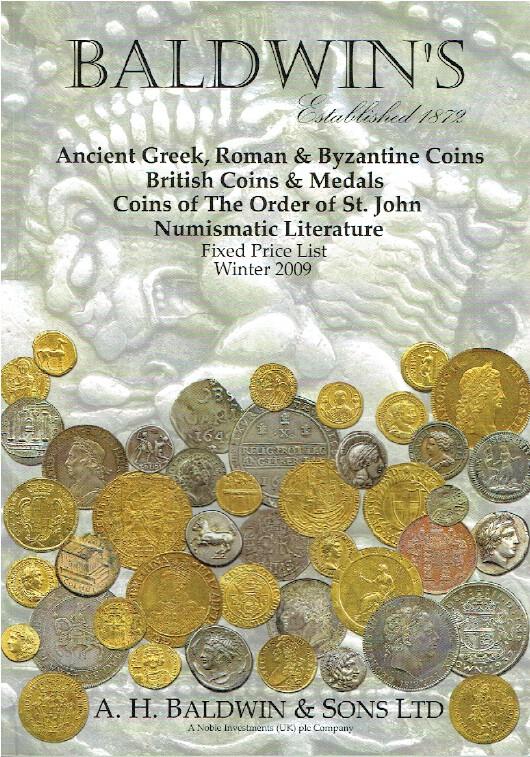 Baldwins Winter 2009 Fixed Price List - Ancient Greek & Byzantine