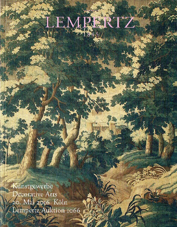 Lempertz May 2016 Decorative Arts