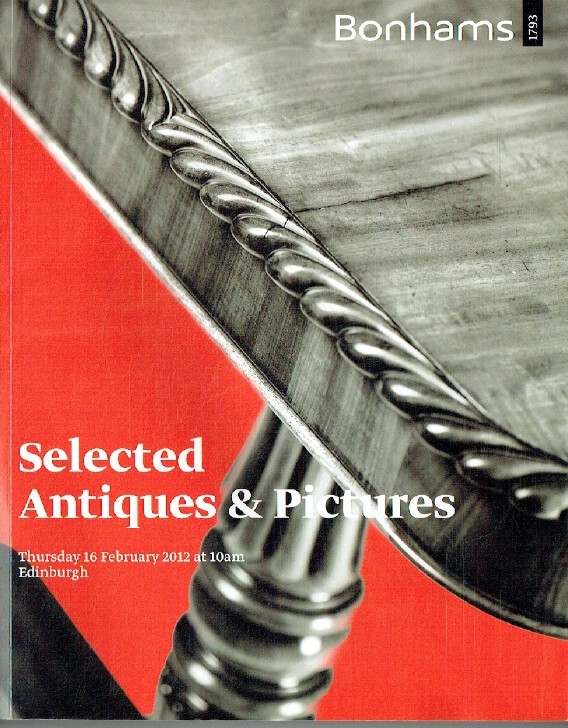 Bonhams February 2012 Selected Antiques & Pictures