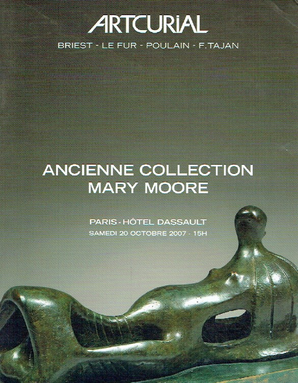 Artcurial October 2007 Sculpture - Mary Moore Collection