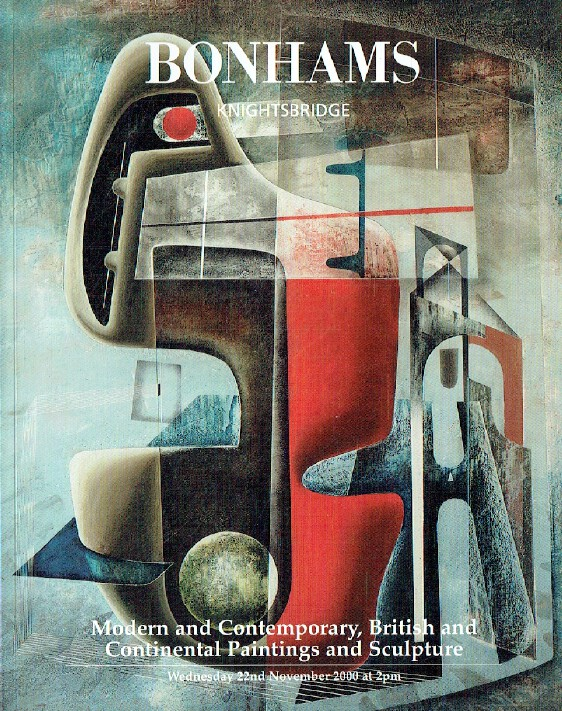 Bonhams November 2000 Modern & Contemporary, British & Continental Paintings
