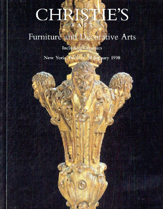 Christies January 1998 Furniture and Decorative Arts inc. Ceramics