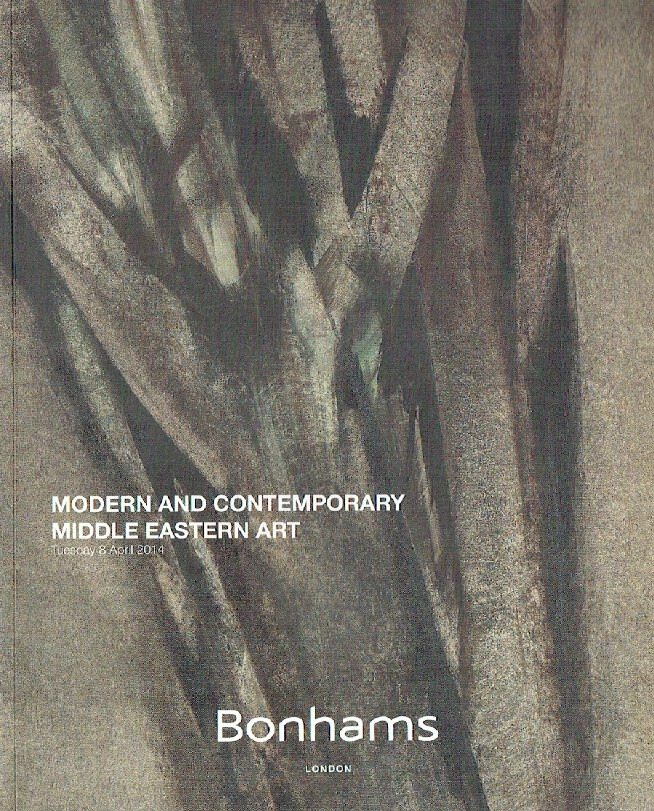 Bonhams April 2014 Modern and Contemporary Middle Eastern Art