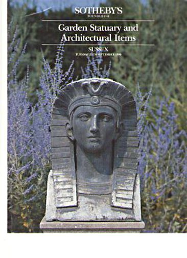 Sothebys 1990 Garden Statuary & Architectural Items