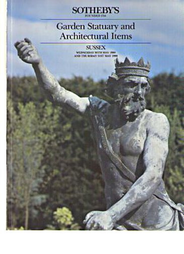 Sothebys May 1990 Garden Statuary & Architectural Items