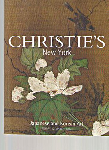 Christies 2002 Japanese & Korean Art