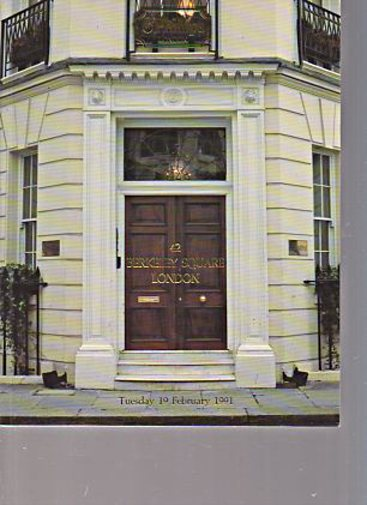 Phillips 1991 Contents of 42 Berkeley Square London