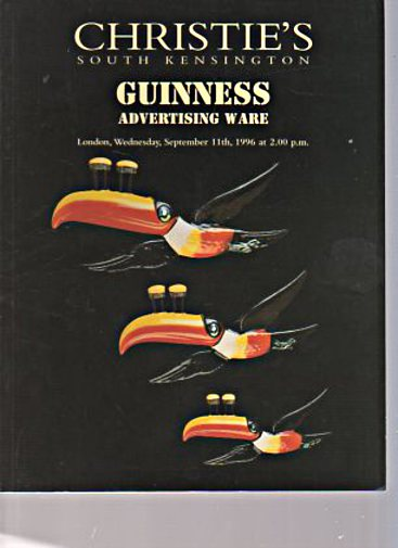 Christies 1996 Guinness Advertising Ware