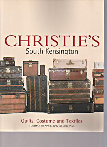 Christies 2000 Quilts, Costume and Textiles