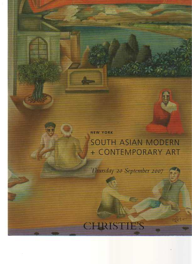 Christie's 2007 South Asian Modern + Contemporary Art