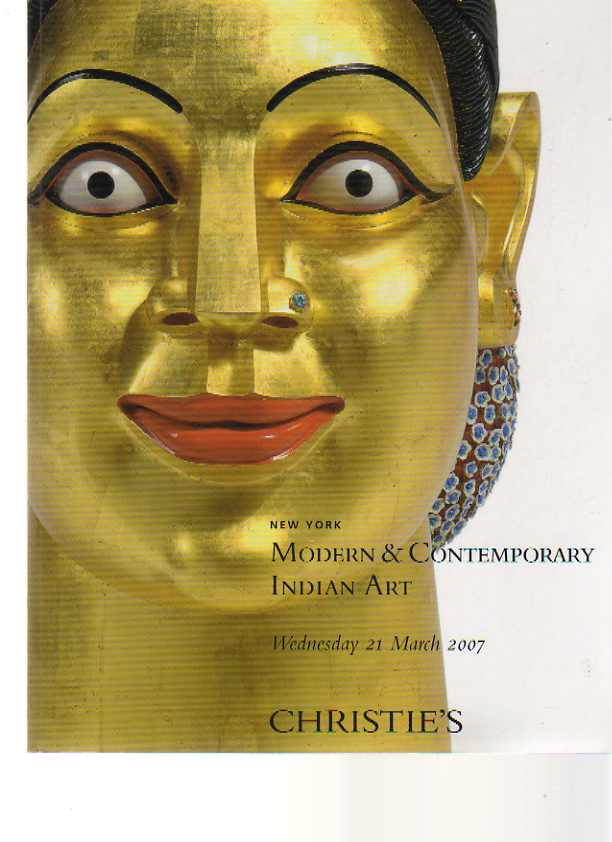 Christie's 2007 Modern & Contemporary Indian Art
