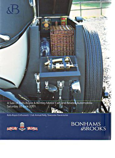 Bonhams & Brooks 2001 Rolls-Royce & Bentley Motor Cars