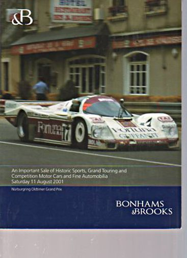 Bonhams & Brooks 2001 Historic Sports, Touring, Competition Cars