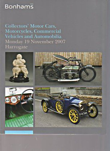Bonhams 2007 Collectors Cars Motorcycles & Commercial Vehicles