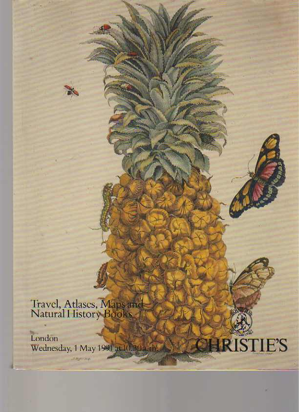 Christies 1991 Travel, Atlases, Maps & Natural History Books