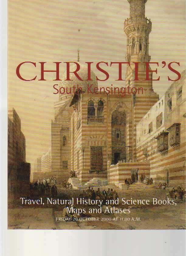 Christies October 2000 Travel, Natural History & Science Books, Maps