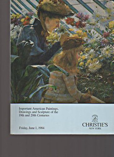 Christies 1984 Important American Paintings 19th & 20th C