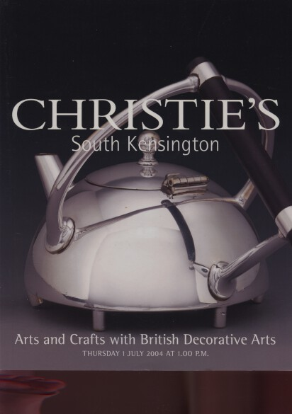 Christies 2004 Arts & Crafts & British Decorative Art