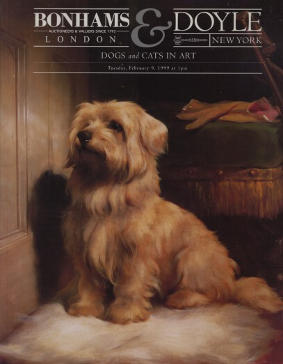 Bonhams & Doyle 1999 Dogs and Cats in Art