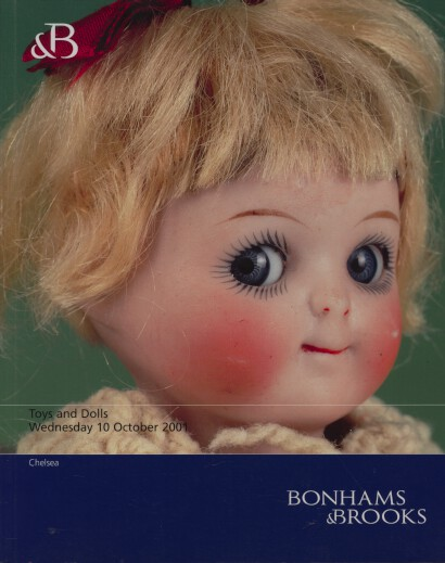 Bonhams & Brooks 2001 Toys and Dolls