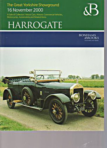 Bonhams & Brooks 2000 Collectors Motor Cars, Motorcycles
