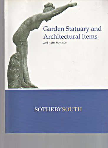 Sothebys 2000 Garden Statuary, Architectural Items