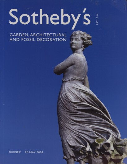 Sothebys May 2004 Garden, Architectural & Fossil Decoration