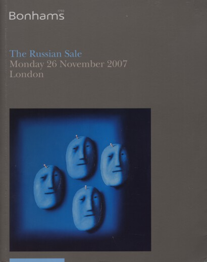 Bonhams 2007 The Russian Sale, Paintings, Works of Art