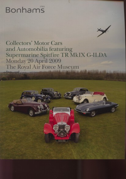 Bonhams 2009 Collectors Motor Cars,Supermarine Spitfire