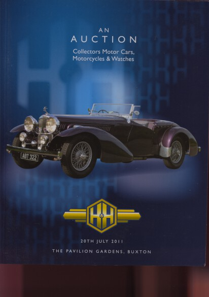 H&H 2011 Collectors Motor Cars, Motorcycles & Watches
