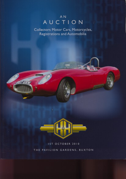 H&H October 2010 Collectors Motor Cars, Motorcycles & Automobilia