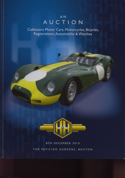 H&H 2010 Collectors Motor Cars, Motorcycles & Automobilia