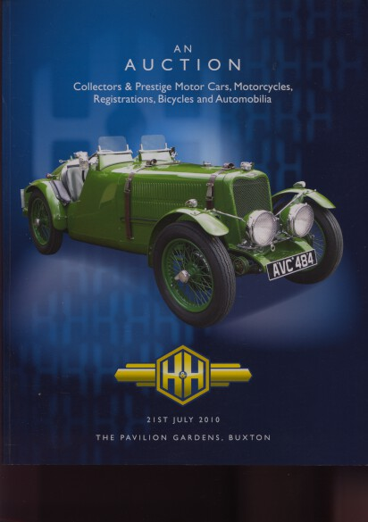 H&H 2010 Collectors & prestige Motor Cars Motorcycles etc