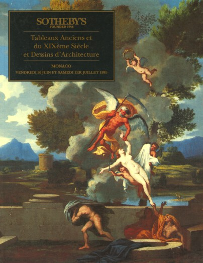 Sothebys 1995 Old Master Paintings & 19th Century Architecture