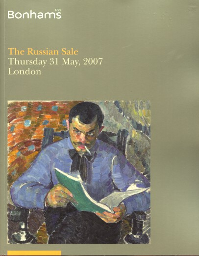 Bonhams May 2007 The Russian Sale, Paintings, Works of Art