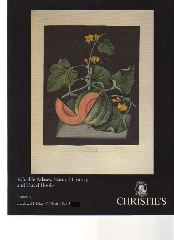 Christies 1996 Atlases, Travel & Natural History Books