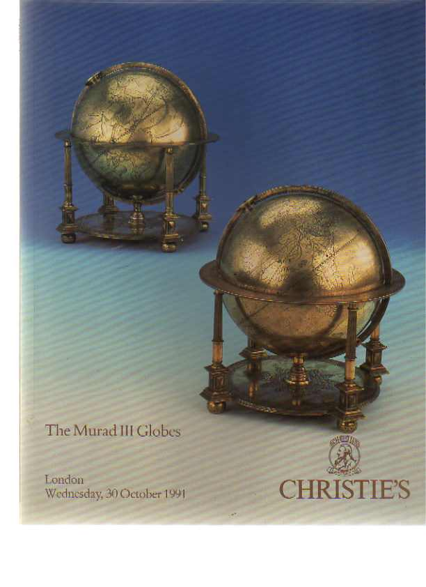 Christies 1991 The Murad III Globes