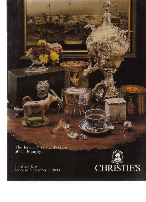 Christies 1990 The Terence J. Fox Collection of Tea Equipage
