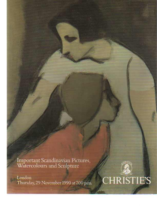 Christies 1990 Important Scandinavian Pictures, Drawings