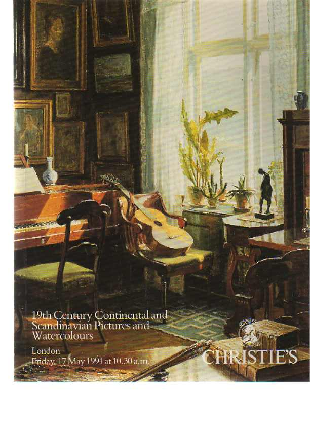 Christies 1991 19th C Continental & Scandinavian Pictures