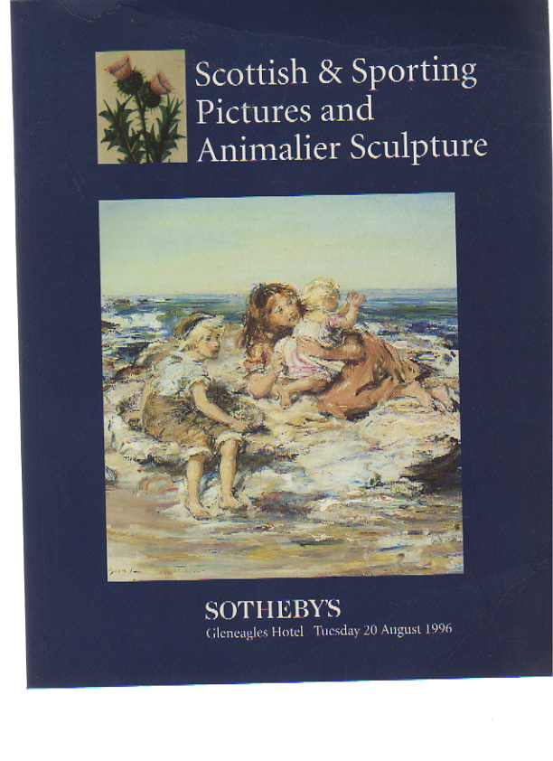 Sothebys 1996 Scottish & Sporting Pictures, Animalier sculpture