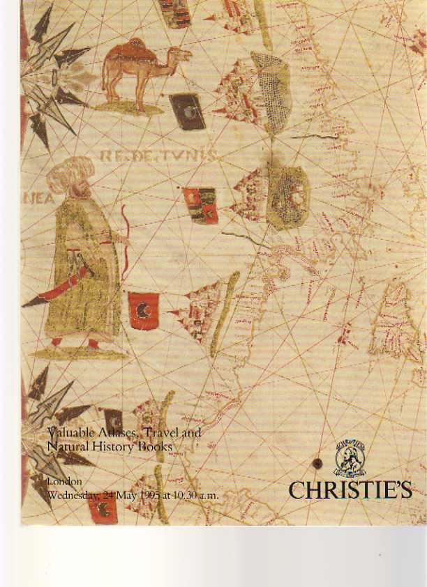 Christies 1995 Valuable Atlases, Travel and Natural History Book