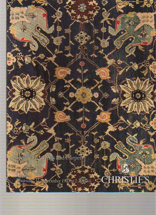 Christies 1993 Decorative Rugs and Carpets