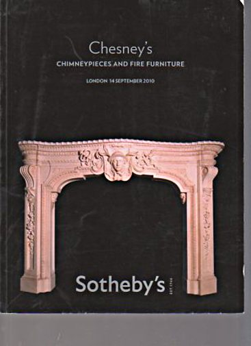 Sothebys 2010 Chesney's Chimneypieces & Fire Furniture