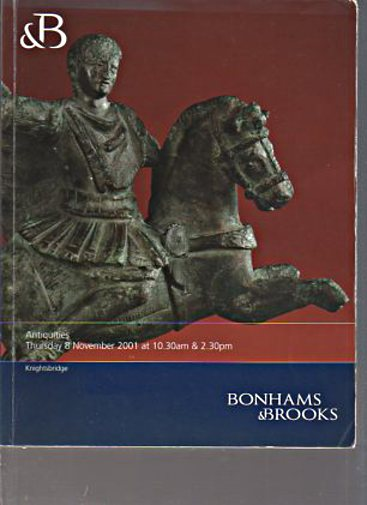 Bonhams & Brooks 2001 Antiquities