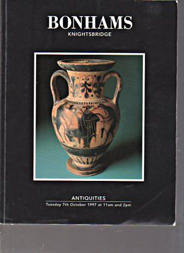Bonhams 1997 Antiquities