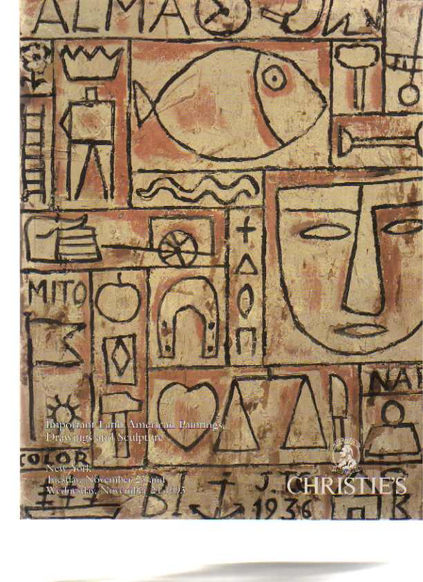 Christies 1993 Important Latin American Paintings & Sculpture